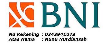 Rekening BNI Jaya Tenda Group