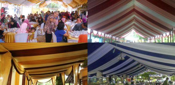 Plafon Tenda Pernikahan